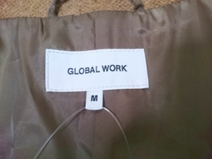 グローバルワーク GLOBAL WORK コート サイズMM M レディース 美品 ライトブラウン 冬物【中古】
