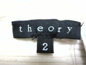 セオリー theory 長袖セーター サイズ2 S レディース アイボリー タートルネック【中古】