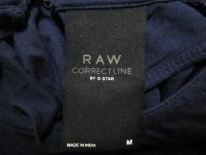 ジースターロゥ G-STAR RAW タンクトップ サイズM レディース 美品 ネイビー RAW CORRECTLINE BY G-STAR【中古】
