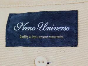 ナノユニバース nano universe コート サイズM レディース ライトブラウン 冬物【中古】