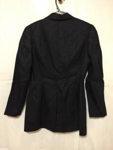 フェンディ FENDI ジャケット サイズ42 M レディース 美品 黒 肩パッド【中古】