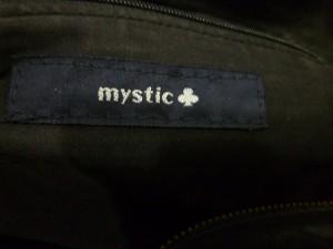 ミスティック mystic ショルダーバッグ 黒 合皮【中古】