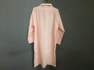 ローラアシュレイ LAURAASHLEY ワンピース サイズM レディース 美品 ピンク パイルバスローブ×ヘアバンドセット/花柄刺繍【中古】