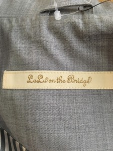 ルルオンザブリッジ LULU ON THE BRIDGE ベスト レディース 新品同様 ライトグレー【中古】