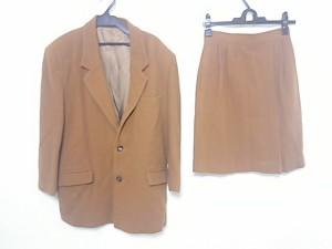 フランドル FLANDRE SELECTION FORMAL スカートスーツ サイズM レディース ブラウン【中古】