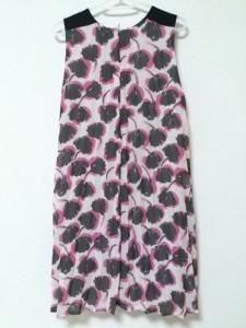 ミリー MILLY ワンピース サイズS レディース 美品 ピンク×黒×アイボリー Danny&Anneコラボ【中古】