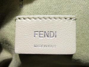 フェンディ FENDI ハンドバッグ 美品 バイザウェイ 8BL124 ベージュ カーフスキン【中古】