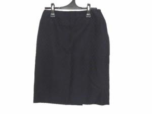 バレンチノローマ VALENTINO ROMA スカート サイズ40/6 レディース 美品 黒【中古】