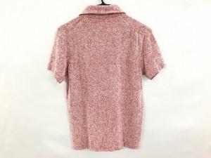 マックリッチ McRitchie 半袖ポロシャツ メンズ 新品同様 レッド×白【中古】