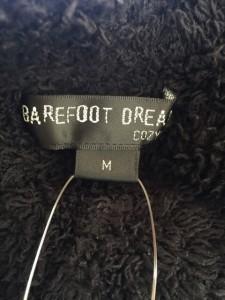 ベアフットドリームス BAREFOOT DREAMS ハーフパンツ サイズM メンズ 黒 ルームウェア/ボア/COZYCHIC【中古】