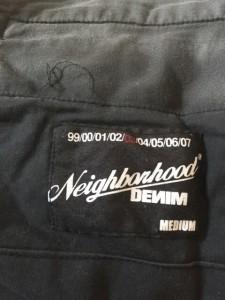 ネイバーフッド NEIGHBORHOOD パンツ サイズ03 L メンズ オレンジ×黒×イエロー チェック柄【中古】