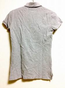 ラルフローレン RalphLauren 半袖ポロシャツ サイズS レディース グレー【中古】