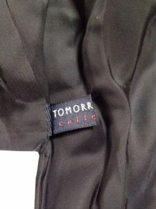 トゥモローランド TOMORROWLAND 長袖カットソー レディース ダークネイビー 襟部分取り外し可能【中古】