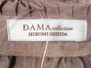 ダーマコレクション DAMAcollection チュニック サイズL レディース タン【中古】
