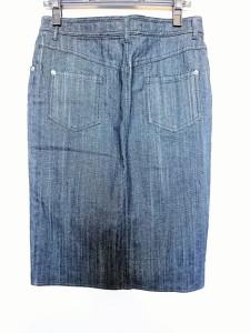 ダーマコレクション DAMAcollection スカート サイズL レディース ネイビー デニム【中古】