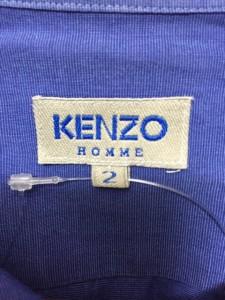 ケンゾー KENZO 長袖シャツ サイズ2 M メンズ 美品 ブルー【中古】