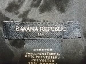 バナナリパブリック BANANA REPUBLIC ワンピース サイズ8 M レディース 黒【中古】