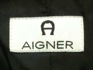 アイグナー AIGNER ジャケット サイズ40(I) M レディース 美品 黒【中古】