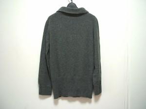 マックスマーラ Max Mara 長袖セーター サイズM レディース グレー ウール ※品質表示タグがないため正確ではありません。【中古】