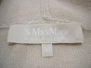 マックスマーラ S Max Mara 長袖セーター サイズM レディース ベージュ フード付き【中古】