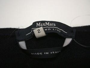 マックスマーラウィークエンド Max MaraWEEKEND ノースリーブセーター サイズS レディース 黒【中古】