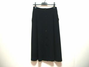 マックスマーラ Max Mara ロングスカート サイズ40 M レディース ダークネイビー【中古】