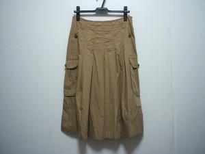 マックスマーラウィークエンド Max MaraWEEKEND ロングスカート サイズ38 S レディース ベージュ プリーツ【中古】