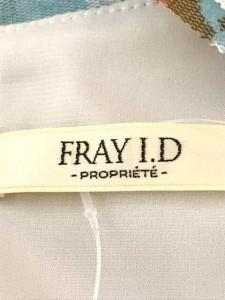 フレイアイディー FRAY I.D ワンピース サイズ1 S レディース アイボリー×ライトブルー×マルチ 花柄【中古】