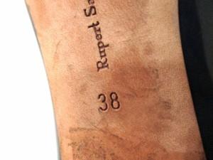 ルパートサンダーソン rupertsanderson パンプス 38 レディース ネイビー アウトソール張替済 エナメル(レザー)【中古】