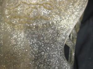 サルバトーレフェラガモ SalvatoreFerragamo フラットシューズ 7 レディース - アイボリー ラメ ラバー【中古】