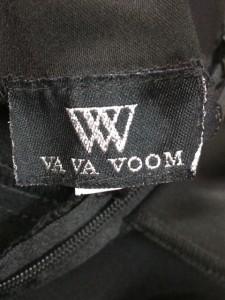ババブーン VAVA VOOM ドレス サイズS レディース 黒 フラワー ※品質表示タグがないため正確ではありません。【中古】