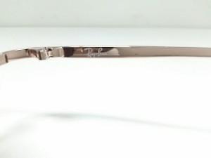 レイバン Ray-Ban サングラス RB3150 ダークブラウン×ピンクゴールド プラスチック×金属素材【中古】