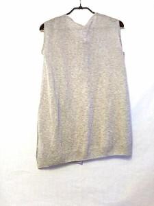 ノーリーズ NOLLEY'S チュニック サイズ38 M レディース 美品 ライトグレー ラメ/sophi【中古】
