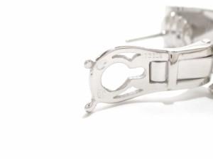 シャネル CHANEL ピアス 美品 スリーシンボル K18WG×ダイヤモンド クリップタイプ/1PD約0.1ct【中古】