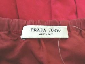 プラダ PRADA ワンピース レディース レッド PRADA TOKYO/シルク【中古】