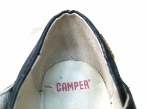 カンペール CAMPER パンプス 38 レディース 黒 レザー【中古】