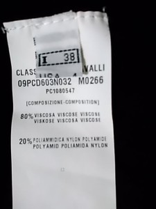 クラスロベルトカヴァリ CLASS roberto cavalli ワンピース サイズ38 M レディース 黒 ニット【中古】