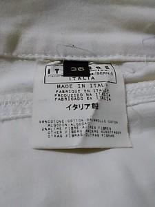 ジャストカヴァリ JUST cavalli パンツ サイズ36 S レディース アイボリー【中古】