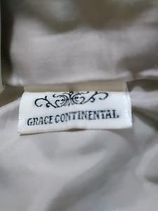 グレースコンチネンタル GRACE CONTINENTAL ワンピース サイズ36 S レディース ベージュ×ブラウン【中古】