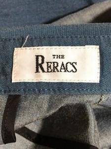 リラクス THE RERACS ワンピース レディース 美品 ライトグレー【中古】
