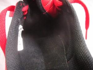 ナイキ NIKE スニーカー メンズ 美品 エース83 429579-601 レッド×黒 合皮【中古】