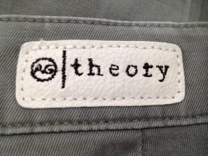 セオリー theory パンツ サイズ25 XS レディース ライトグリーン【中古】