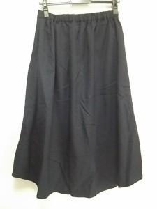 バーンヤードストーム BARNYARDSTORM ロングスカート サイズ1 S レディース 美品 ネイビー ウエストゴム【中古】