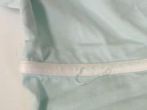 クレージュ COURREGES 半袖カットソー サイズ38 M レディース ライトブルー×白【中古】