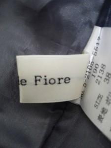 デビュードフィオレ Debut de Fiore ワンピース サイズ38 M レディース 美品 アイボリー×ダークグレー×白【中古】