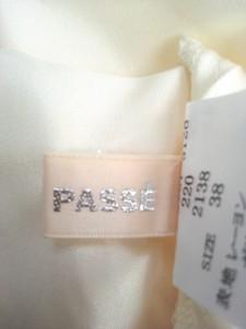 レッセパッセ LAISSE PASSE ワンピース サイズ38 M レディース 美品 オレンジ×白 チェック柄【中古】