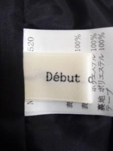 デビュードフィオレ Debut de Fiore ワンピース サイズ38 M レディース 美品 アイボリー×黒【中古】