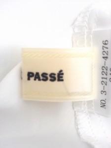 レッセパッセ LAISSE PASSE ワンピース サイズ38 M レディース 美品 黒×白 花柄/レース【中古】