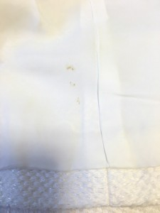エポカ EPOCA スカートスーツ サイズ40 M レディース 美品 アイボリー リボン/フリル【中古】