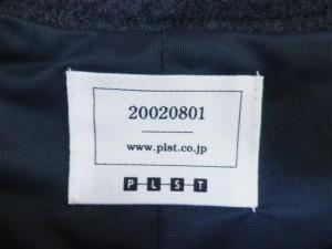 プラステ PLS+T(PLST) ワンピース サイズ2 M レディース 美品 ダークグレー【中古】